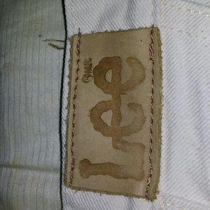 Size 12 Lee Jeans. Beige.